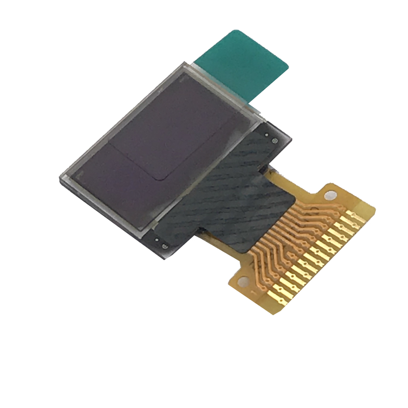 0 . 49 inch monochrome MINI pmoled display without backlight   64 x 32 Dots I2C Interface with  IC SSD1306