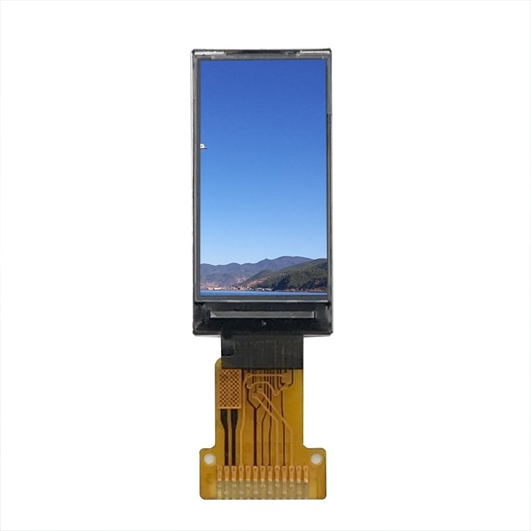 80 * 160 Resolution Spi Interface Ips Lcd Display Customized Full 0.96inch Tft