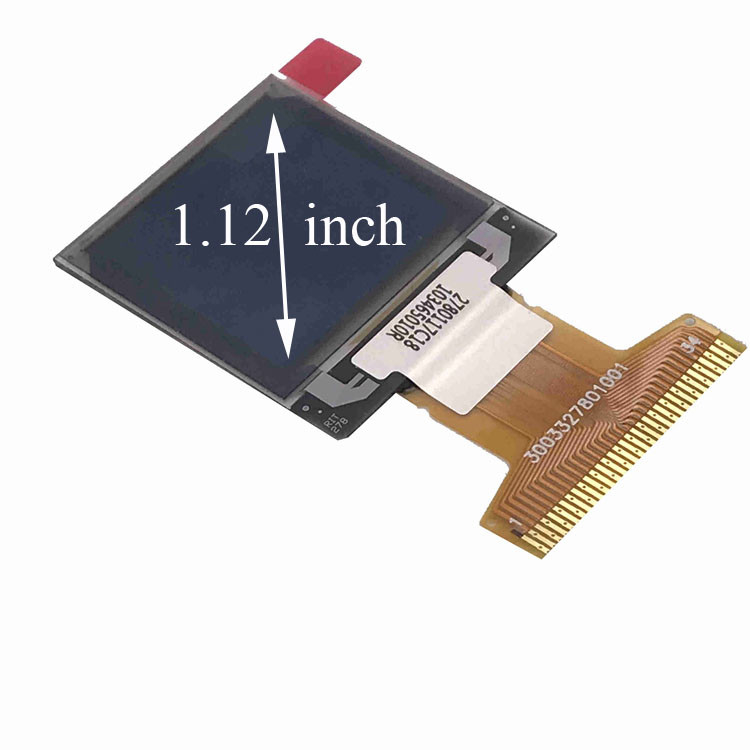 96x96 Resolution PMOLED Display 1.12 Inch For Industrial Device