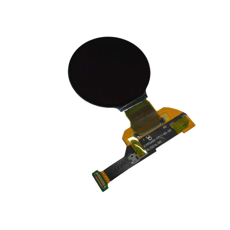 low consumption small round 1.19 inch 390x390 oled display for smart watch
