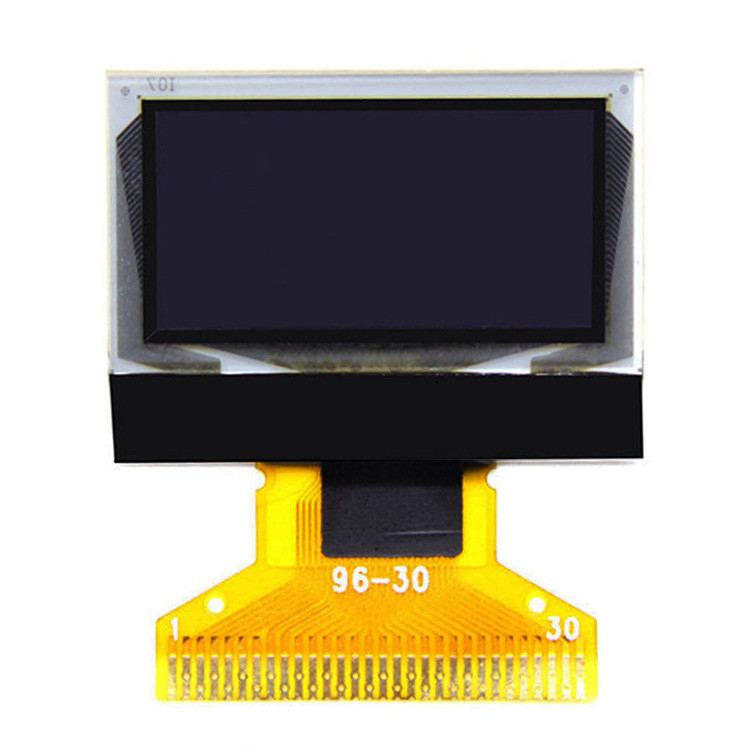12864  PMOLED Display 0.96 Inch Oled Display Pixel White Color